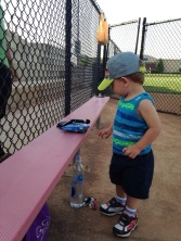 At the ball park